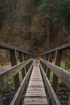 Crossing The Bridge. Poster by Daniel Kay