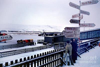 Crossroads In Iceland Poster by Wernher Krutein