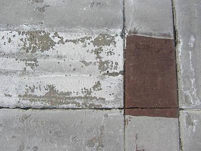 Crosswalk Patterns 2 Poster by Anita Burgermeister