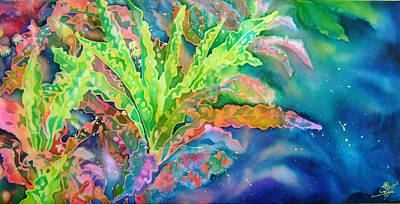 Croton Series 4 Poster by Deborah Younglao