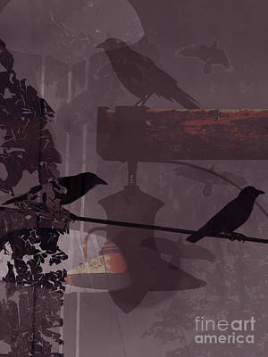 Crows  Poster by Robert Ball