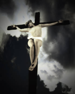 Crucified Christ Poster by Ramon Martinez