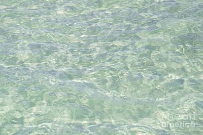 Crystal Clear Atlantic Ocean Key West Poster by Ian Monk