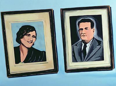 Cuban Portrait #2, 1996 Poster by Marjorie Weiss