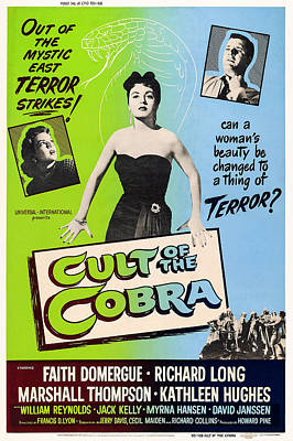 Cult Of The Cobra, L-r Kathleen Hughes Poster by Everett