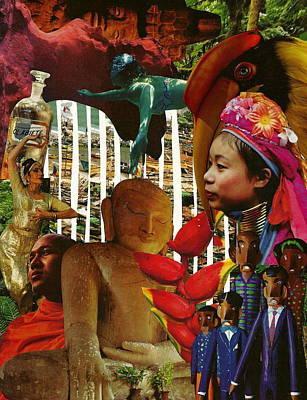 Culture-bound  Poster by Nicolas Fine Art