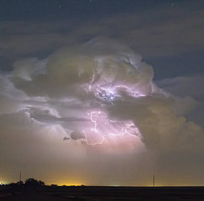 Cumulonimbus Cloud Explosion Portrait Poster by James BO  Insogna
