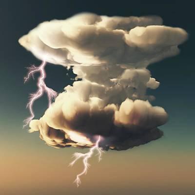 Cumulonimbus Storm Cloud Poster by Mikkel Juul Jensen