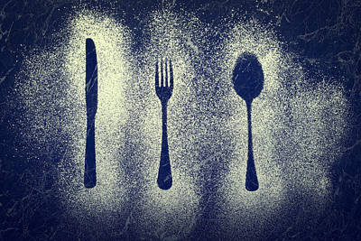 Cutlery Series Poster by Amanda And Christopher Elwell
