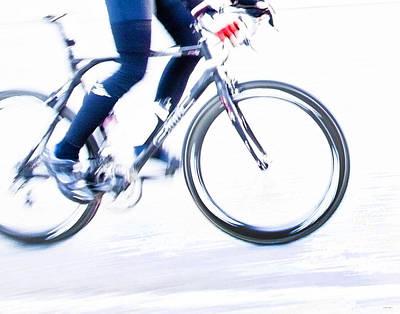 Cycling Poster by Theresa Tahara