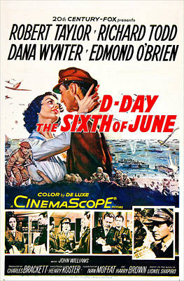 D-day The Sixth Of June, Us Poster Poster by Everett