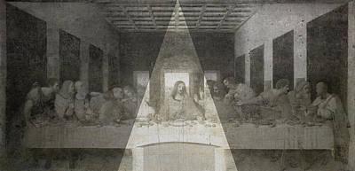 Da Vinci Last Supper Revisited Poster by Filippo B