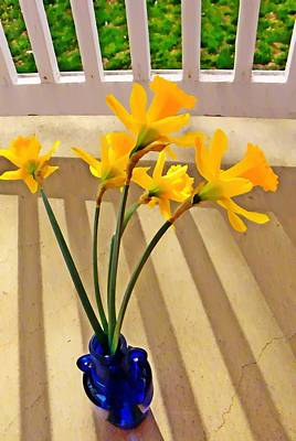 Daffodil Boquet Poster by Chris Berry