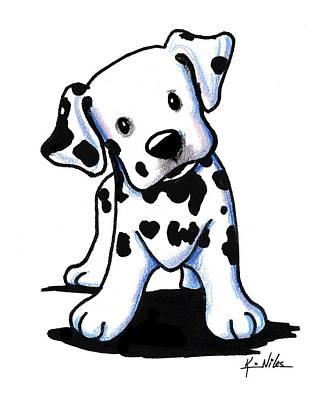 Dalmatian Puppy Poster by Kim Niles