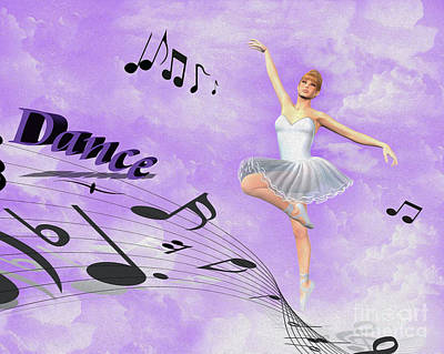 Dance Poster by Cheryl Young
