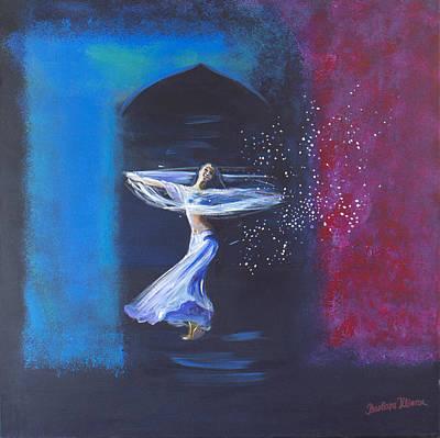 Dance Of Joy Poster by Barbara Klimova