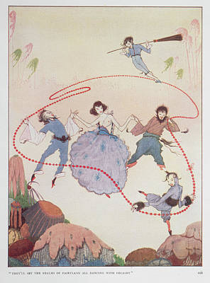 Dancing Poster by British Library