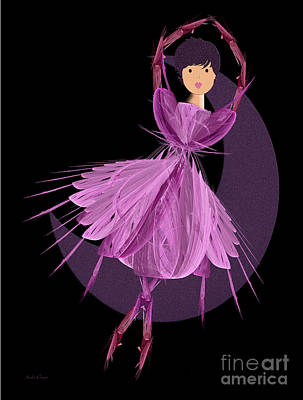 Dancing With The Moon A Poster by Andee Design