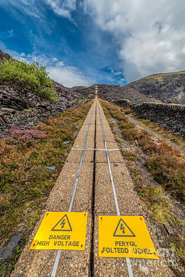 Danger High Voltage  Poster by Adrian Evans