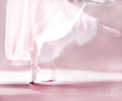 Danseur De Ballet Poster by Linde Townsend