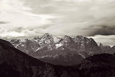 Dark Alps Poster by Ryan Wyckoff