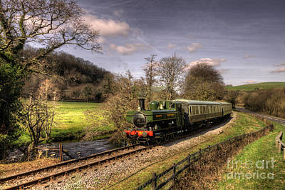 Dart Valley Pannier Poster by Rob Hawkins