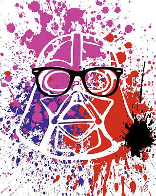 Darth Vader Corrective Lenses Poster by Decorative Arts