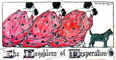 Daughters Of Desperation 1903 Poster by Padre Art