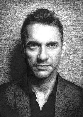 Dave Gahan  Poster by Timothy Glasby