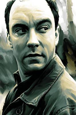 Dave Matthews Artwork Poster by Sheraz A