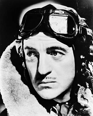 David Niven In The Dawn Patrol Poster by Silver Screen