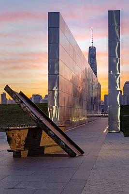 Dawn At The Empty Sky Memorial Poster by Susan Candelario