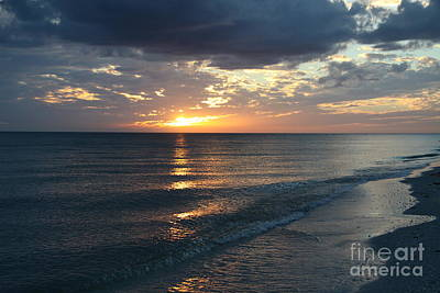 Days End Over Sanibel Island Poster by Christiane Schulze Art And Photography
