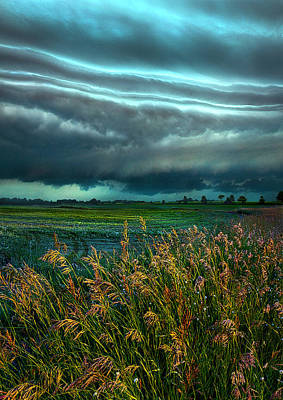 Days Of Thunder Poster by Phil Koch