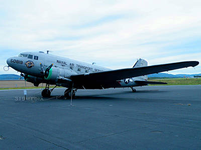 Dc-3 On Display Poster by Sabre Tooth