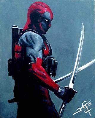 Deadpool Poster by Tom Carlton