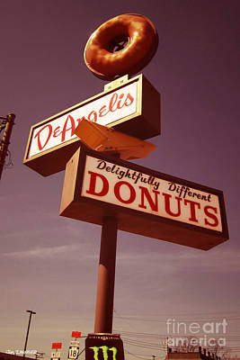 Deangelis Donuts Poster by Jim Zahniser