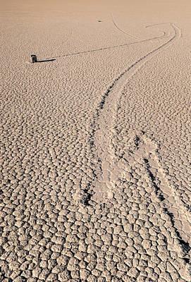 Death Valley Racetrack California Poster by Steve Gadomski