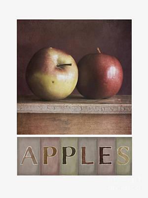 Deco Apples Poster by Priska Wettstein