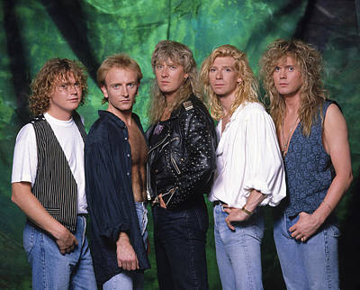 Def Leppard - 15 Months Of Rock 1987 Poster by Epic Rights