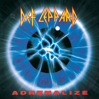 Def Leppard - Adrenalize 1992 Poster by Epic Rights
