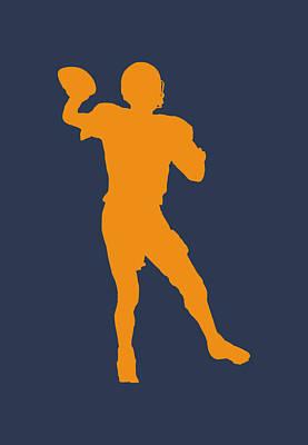 Denver Broncos Peyton Manning Poster by Joe Hamilton