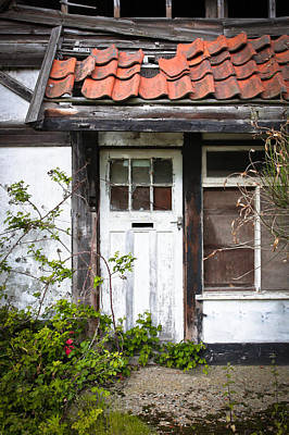 Derelict Cottage Poster by Tom Gowanlock
