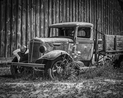 Derelict Truck Poster by Kyle Wasielewski