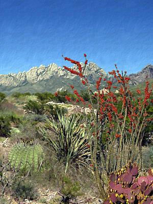 Desert Bloom Poster by Kurt Van Wagner