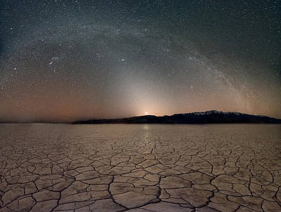 Desert Night Poster by Leland D Howard