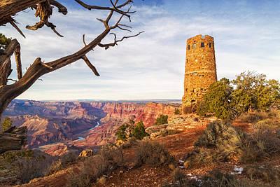 Desert View Watchtower Poster by Alex Mironyuk