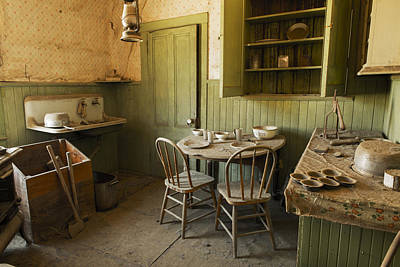 Deserted Bodi Kitchen  Poster by Bryant Coffey