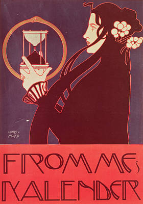 Design For The Frommes Calendar Poster by Kolo