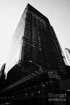 Deutsche Bank Building Due For Demolition Liberty Street Ground Zero Poster by Joe Fox